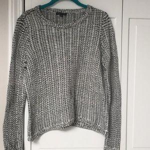 Eileen Fisher linen crew sweater size medium